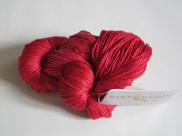 Handmaiden Sea sock Ruby Red