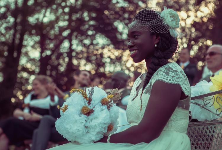 Mariage champêtre DIY et bouquet mariée DIY